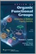 image of Review of Organic Functional Groups