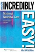 image of Maternal-Neonatal Care Made Incredibly Easy! UK Edition