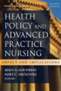 image of Health Policy and Advanced Practice Nursing: Impact and Implications