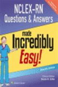 image of NCLEX-RN Questions & Answers Made Incredibly Easy!