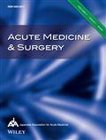 image of Acute Medicine & Surgery - Open Access