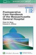 image of Postoperative Care Handbook of the Massachusetts General Hospital