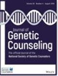 image of Journal of Genetic Counseling