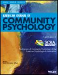 image of American Journal of Community Psychology