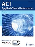 image of Applied Clinical Informatics