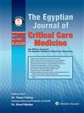 image of Egyptian Journal of Critical Care Medicine