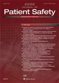image of Journal of Patient Safety