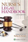 image of Nurse's Legal Handbook