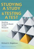 image of Studying a Study & Testing a Test: Reading Evidence-Based Health Research
