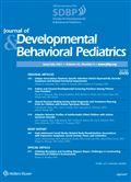 image of Journal of Developmental & Behavioral Pediatrics