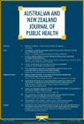 image of Australian and New Zealand Journal of Public Health