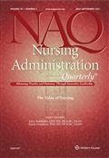 image of Nursing Administration Quarterly