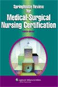 image of Springhouse Review for Medical-Surgical Nursing Certification