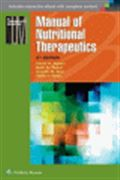 image of Manual of Nutritional Therapeutics