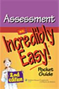 image of Assessment: An Incredibly Easy! Pocket Guide
