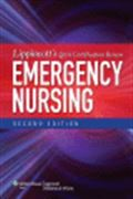 image of Lippincott's Q&A Certification Review: Emergency Nursing
