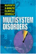 image of Nurse's 5-Minute Clinical Consult: Multisystem Disorders