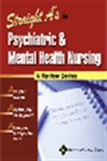 image of Straight A's in Psychiatric and Mental Health Nursing