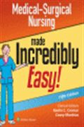 image of Medical-Surgical Nursing Made Incredibly Easy!