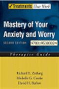 image of Mastery of Your Anxiety and Worry: Therapist Guide