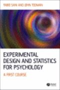 image of Experimental Design and Statistics for Psychology: A First Course
