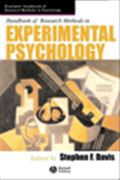 image of Handbook of Research Methods in Experimental Psychology