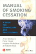 image of Manual of Smoking Cessation: A Guide for Counsellors and Practitioners