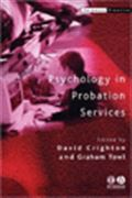 image of Psychology in Probation Services