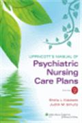 image of Lippincott's Manual of Psychiatric Nursing Care Plans