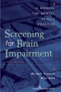 image of Screening for Brain Impairment: A Manual for Mental Health Practice