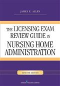 image of Licensing Exam Review Guide in Nursing Home Administration, The