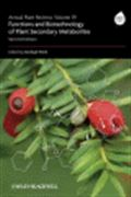 image of Annual Plant Reviews, Volume 39: Functions of Plant Secondary Metabolites and their Exploitation in Biotechnology