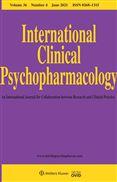 image of International Clinical Psychopharmacology
