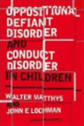image of Oppositional Defiant Disorder and Conduct Disorder in Childhood
