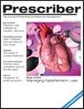 image of Prescriber: the Journal of Prescribing and Medicines Management