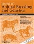 image of Journal of Animal Breeding and Genetics