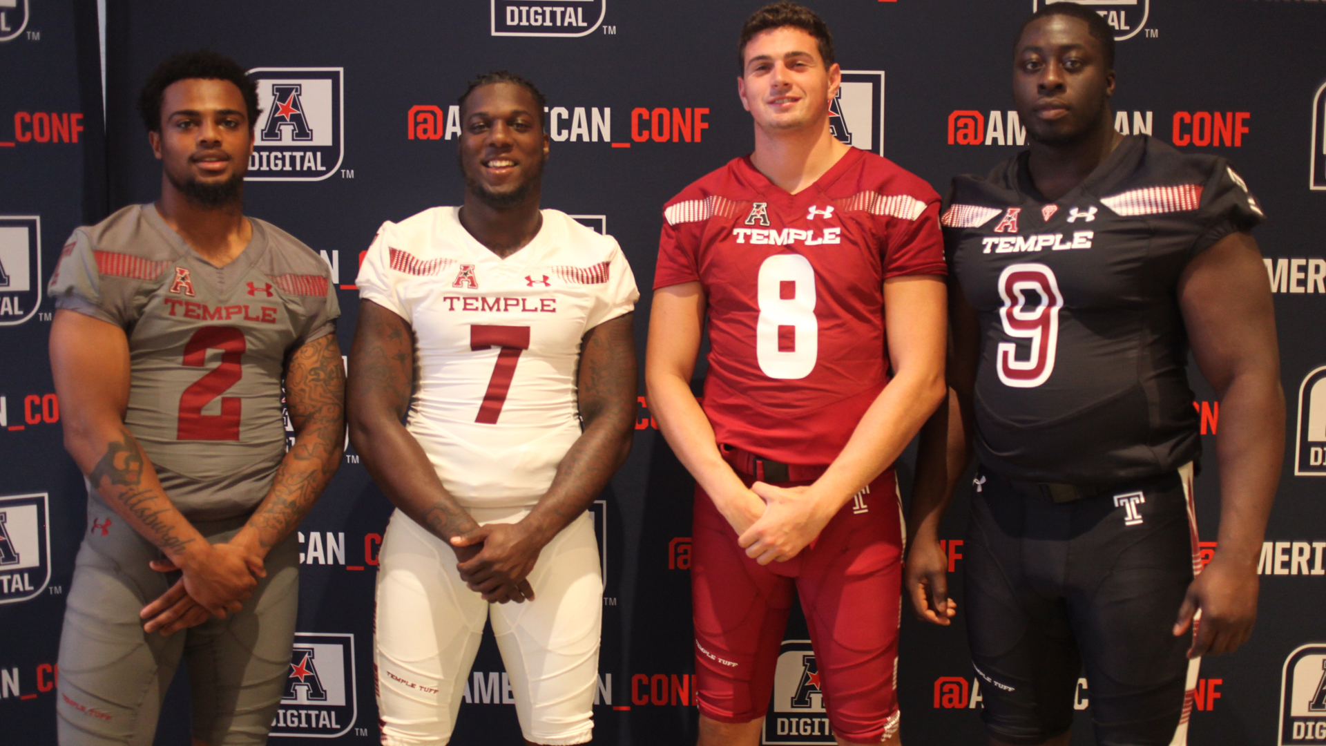 Football ranked third in the east in preseason media poll temple university  athletics jpg 1920x1080 Temple 07fb6ada0