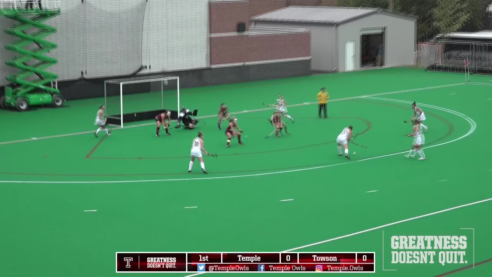 Temple FH Highlights vs Towson