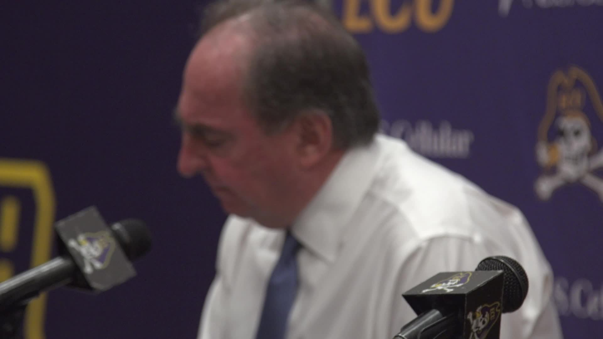 Fran Dunphy Post-ECU Press Conference
