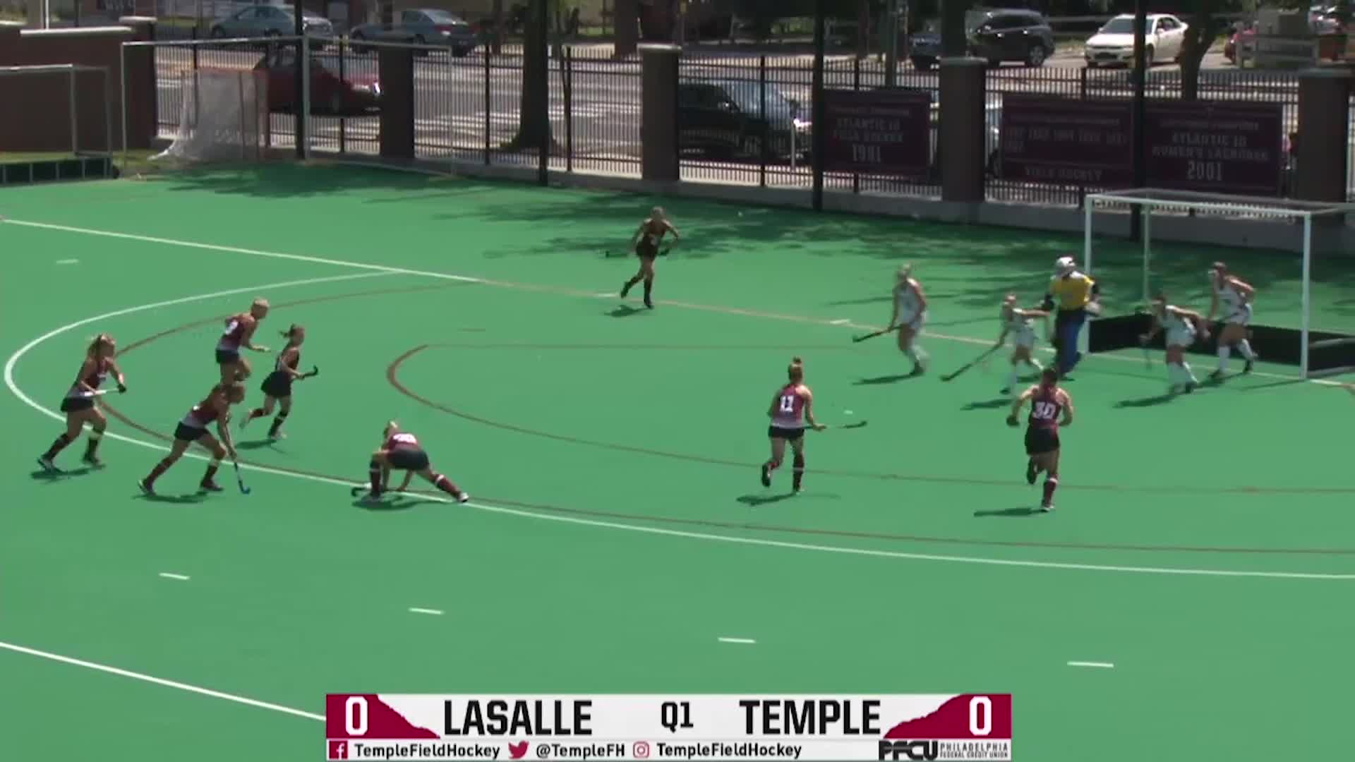 Temple Field Hockey Vs Lasalle Highlights Owlstv Powered By Sidearm Showcase Temple University Athletics