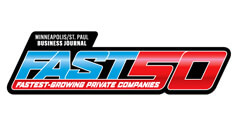Award for Minneapolis Business Journal Fast50