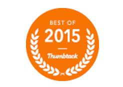 Award for Best of 2015 Thumbtack