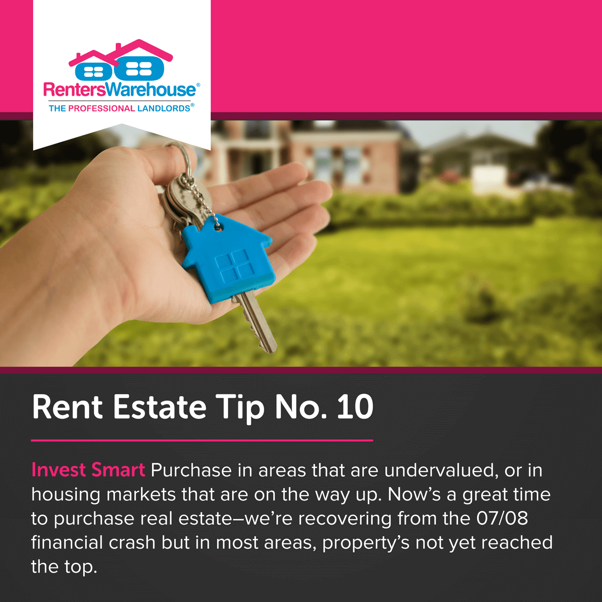 Image related to Rent Estate™ Tip No. 10 - Invest Smart