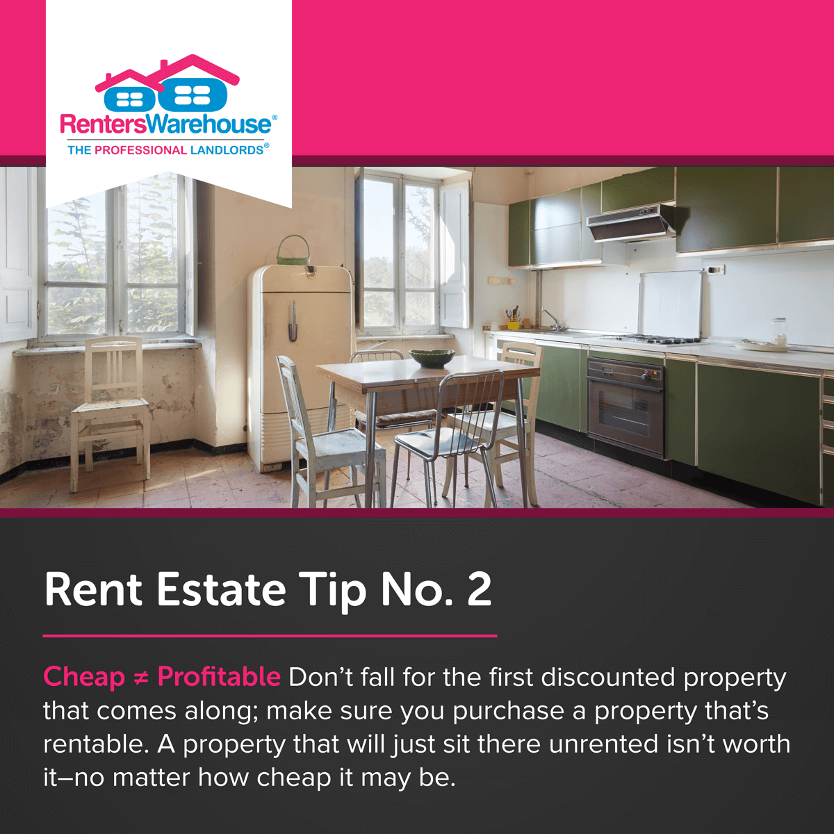 Image related to Rent Estate™ Tip No. 2 - Cheap ≠ Profitable