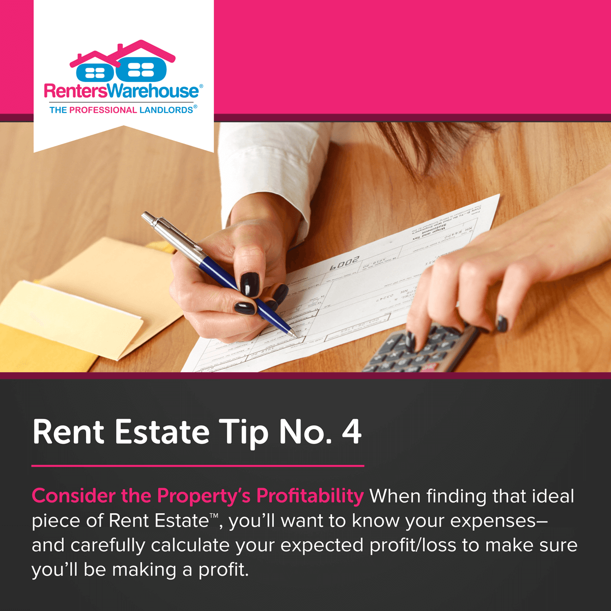 Image related to Rent Estate™ Tip No. 4 - Consider the Property's Profitability