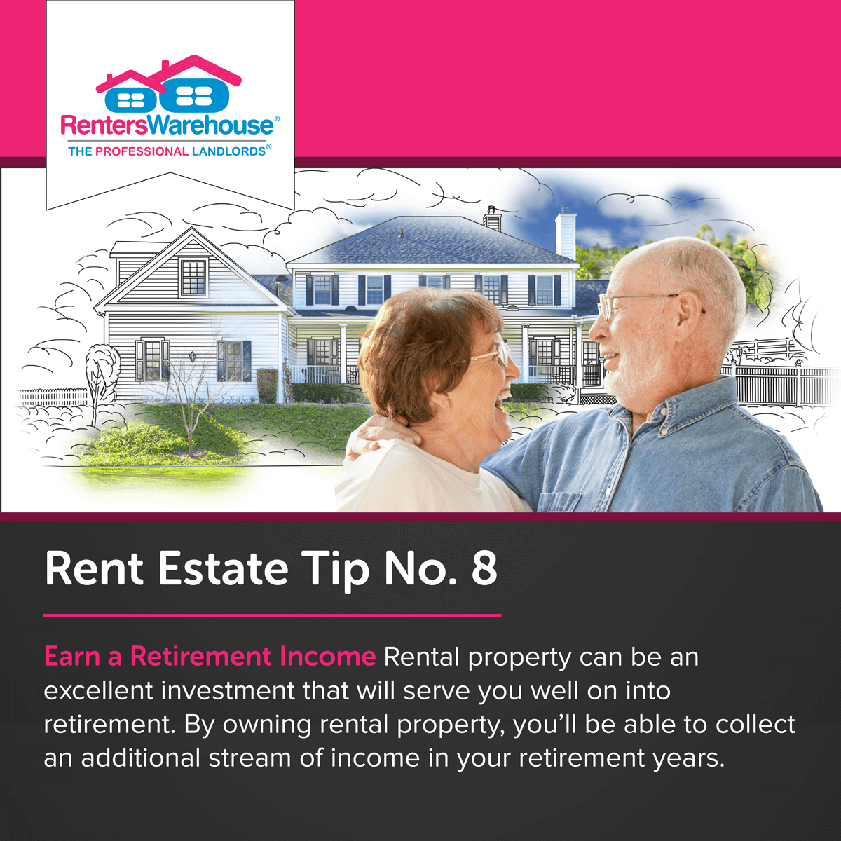 Image related to Rent Estate™ Tip No. 8 - Earn a Retirement Income