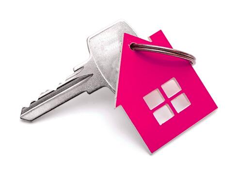 Keys to a rental home