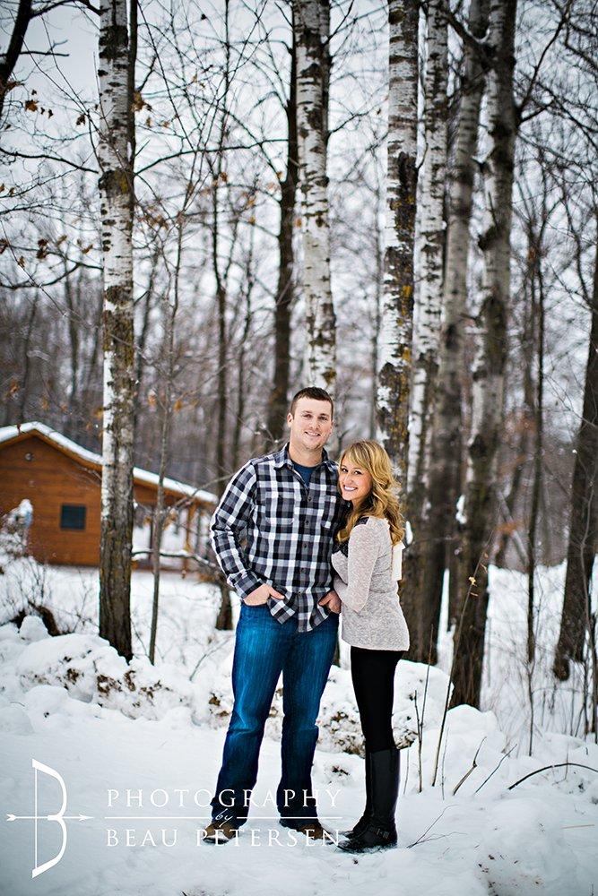 Northern Wisconsin Winter Woods