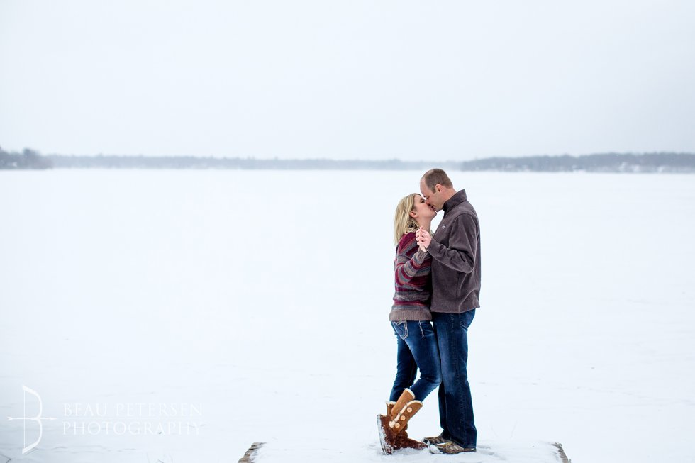 Rice Lake Wisconsin Engagement Session