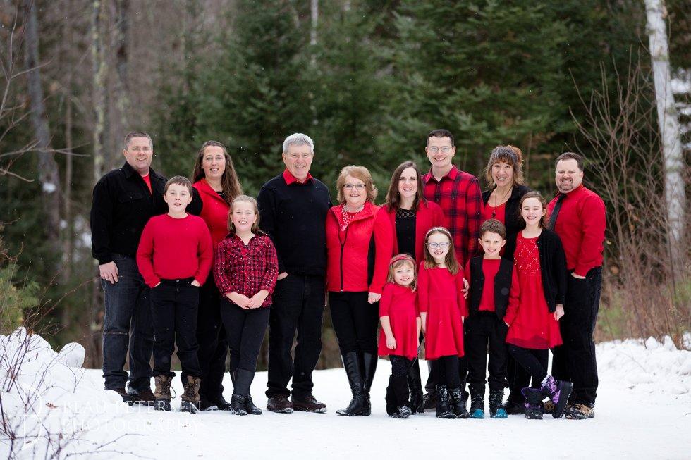 hayward winter family portraits
